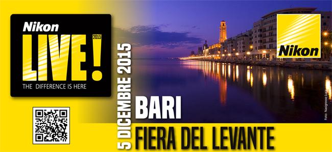 Nikon Live! 5 dicembre 2015 - Fiera  del Levante Bari