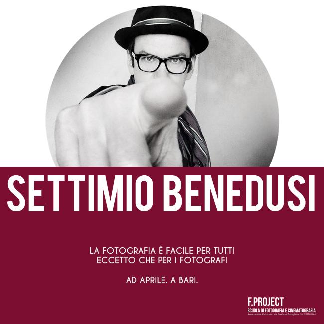 Settimio Benedusi - Workshop a Bari - F.project (650 x 650)
