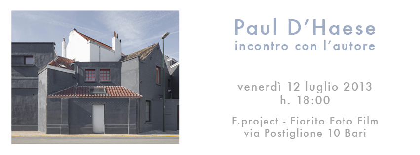 Paul D'Haese - F.project