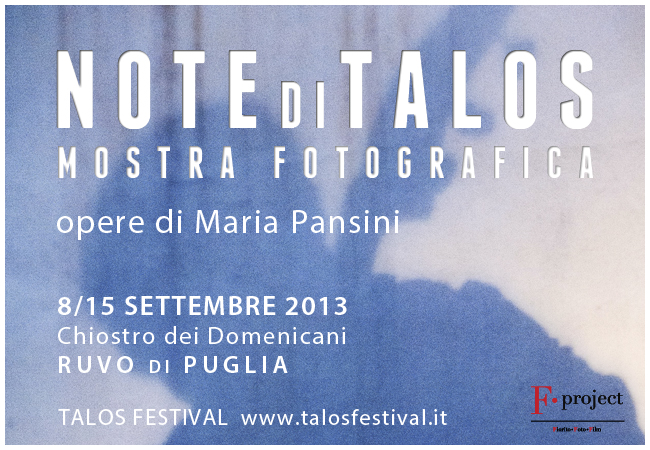 Note di Talos - Maria Pansini - F.project
