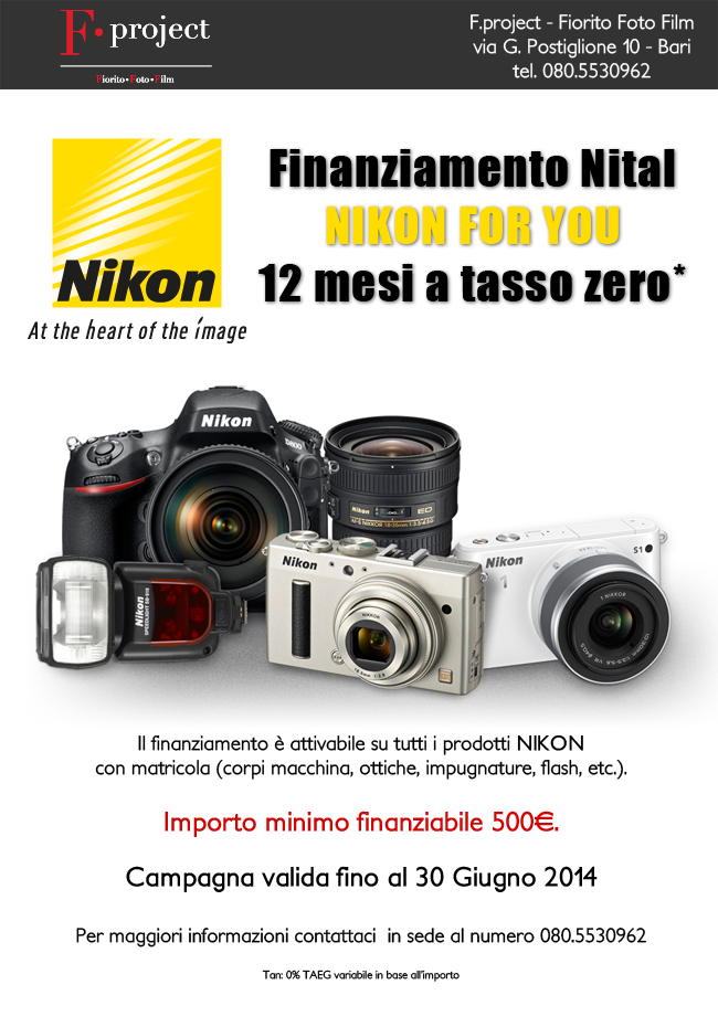 Nikon-For-You---Finanziamento-tasso-0