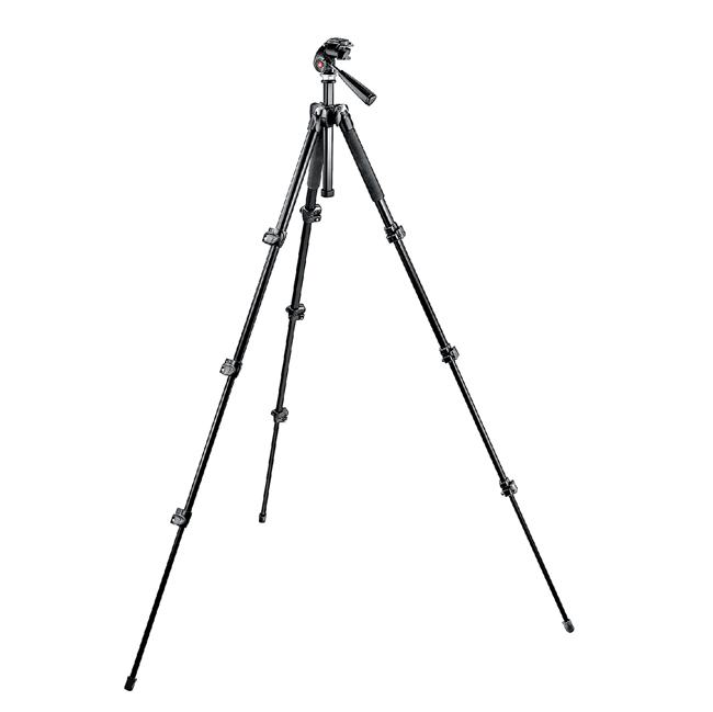 Manfrotto treppiede Kit 293 alluminio + testa a 3 movimenti Quick Release RC1 NE Bari Puglia