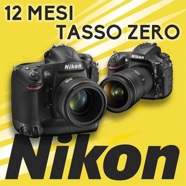 Nikon 12 mesi tasso zero Bari Puglia