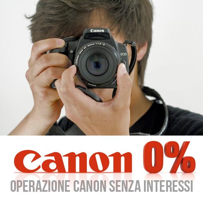 Operazione Canon Senza Interessi Bari