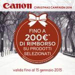 Canon Christmas Campaign 2014