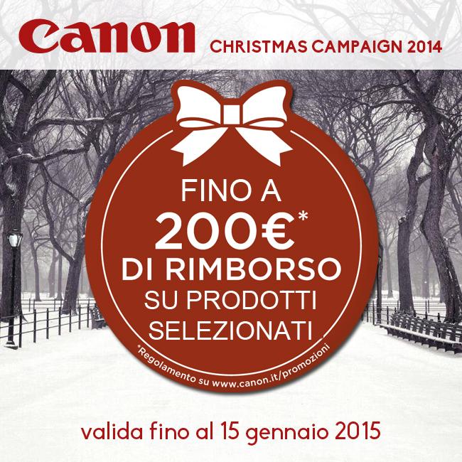 Canon Christmas Campaign 2014 Bari Puglia