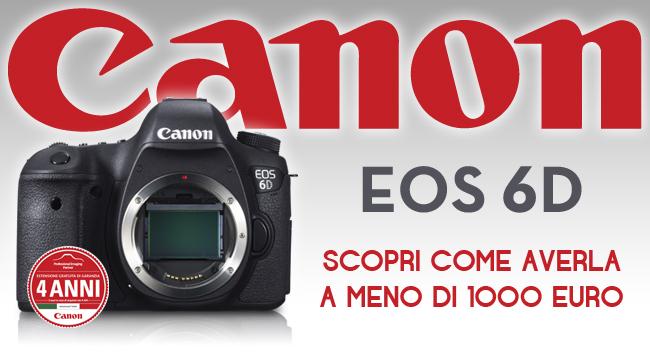 Canon Eos 6d Promozione prezzo Bari Puglia 650 px