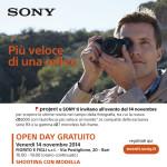 SONY – Open Day gratuito 14 novembre a Bari