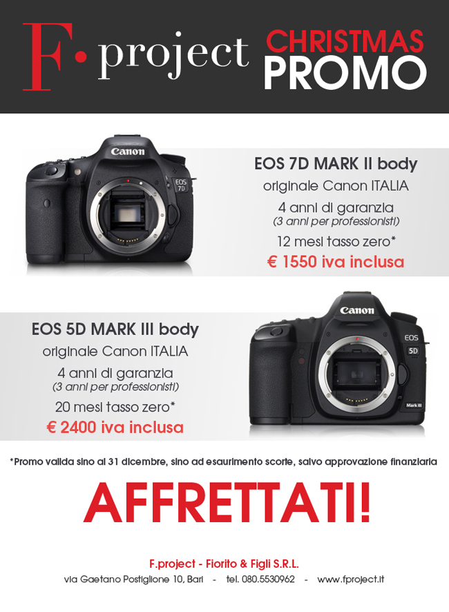 Fproject - Christmas PROMO dicembre 2014