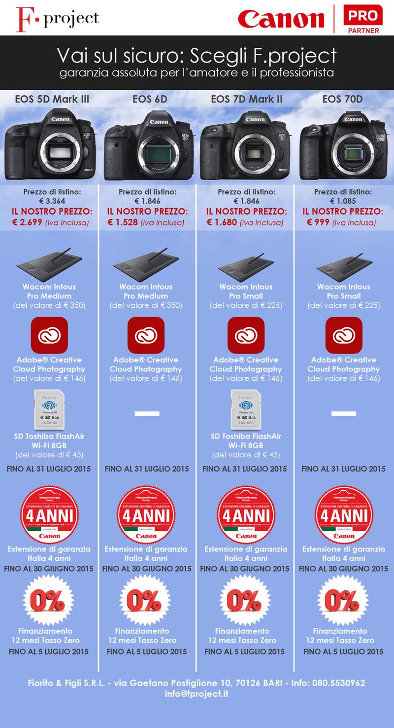 PROMO CANON 2015 - Garanzia sconti e finanziamentopx