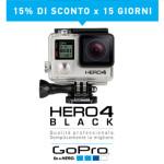 GoPro HERO4 Black – sconto del 15%