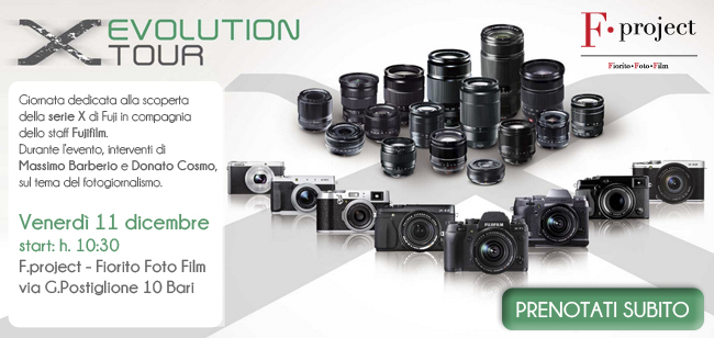 Fuji X Evolution tour 2015 - prenotati