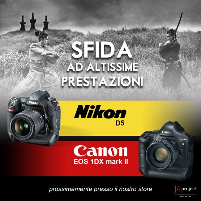 Nikon D5 - Canon 1D X mark II
