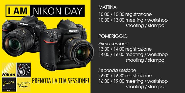 Nikon Day Bari-Programma