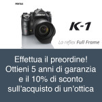 Pentax K1 – La reflex full frame