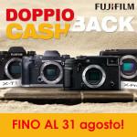 Fujifilm – Doppio cashback fino al 31 agosto