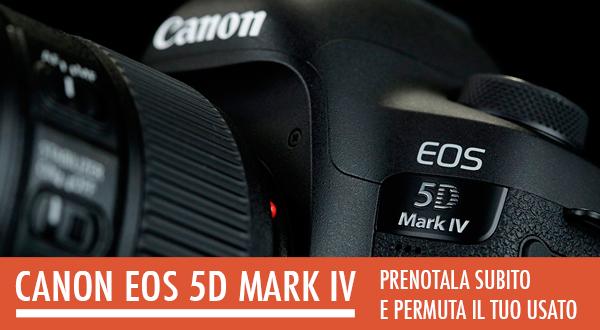 Canon EOS 5D Mark IV - prezzo negozio Puglia Bari