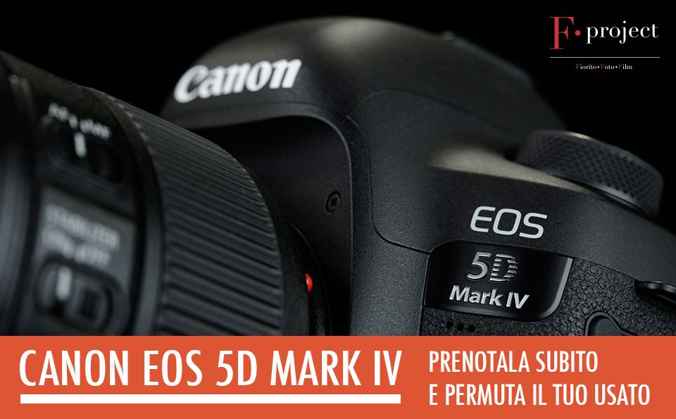 Canon EOS 5D Mark IV - prenotazione e permuta usato