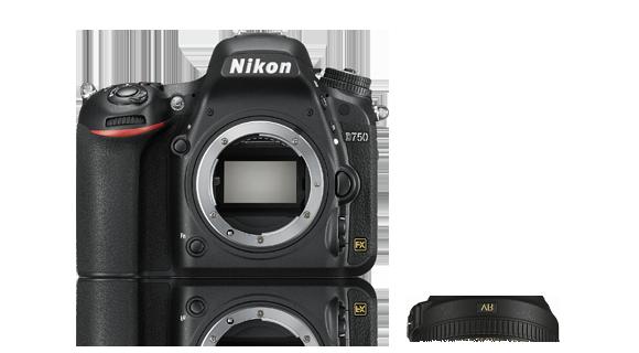 Nikon D750 solo corpo - Origine e Garanzia Nital Italia