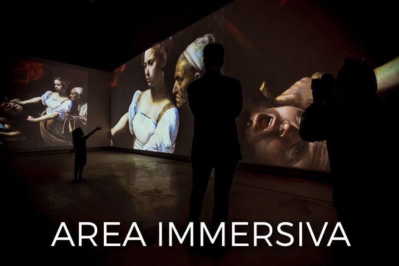 Bari Canon Storie di EOS 5 TOUR sala immersiva