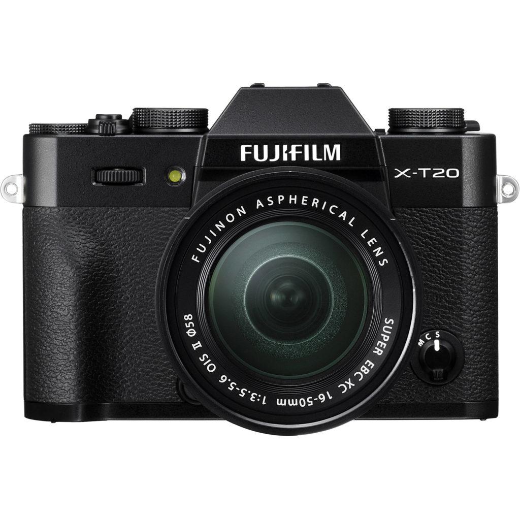 fujifilm x-t20 16-50 black