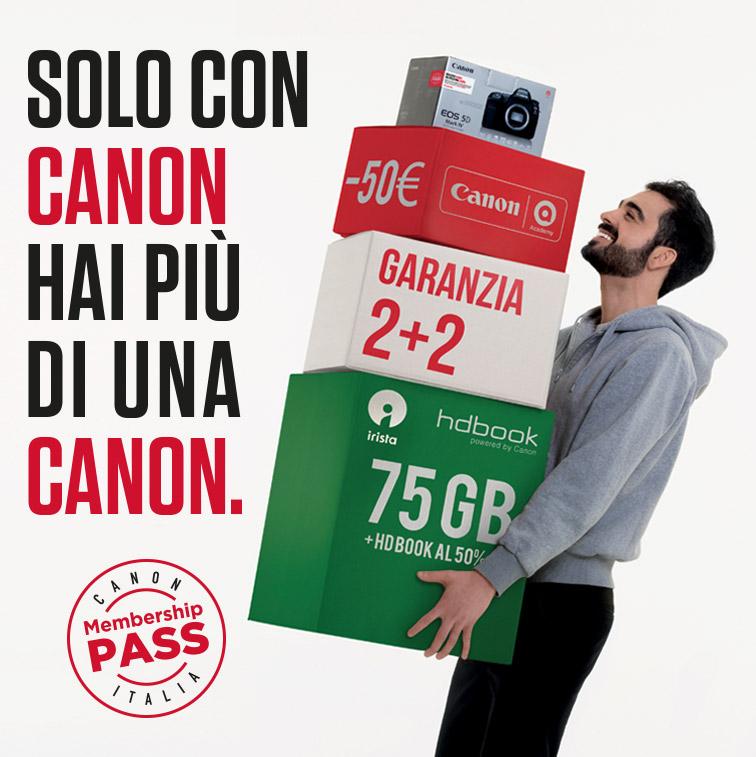 Canon Membership Pass Italia