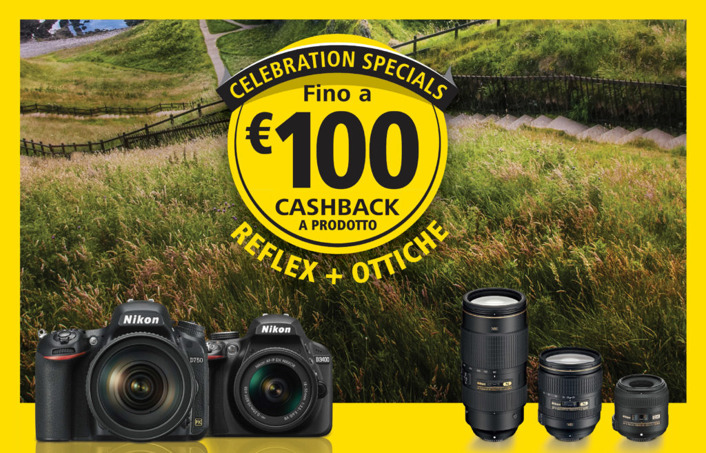 Nikon 100th anniversary - 100 euro cashback
