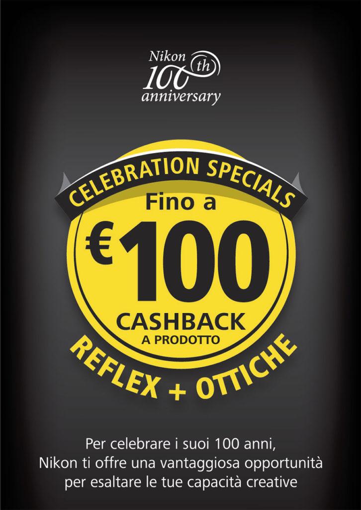 Nikon 100th anniversary - 100 euro rimborso