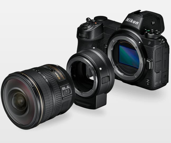 Nikon Z, corpo macchina adattatore ottica