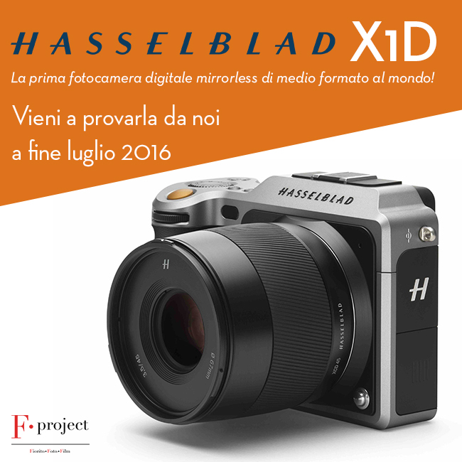 HASSELBLAD X1D anteprima