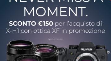 Fujifilm Mirrorless X-H1 promozione aprile 2018